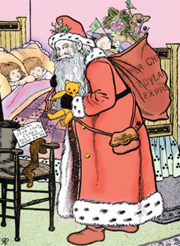 A Visit From Santa Claus
