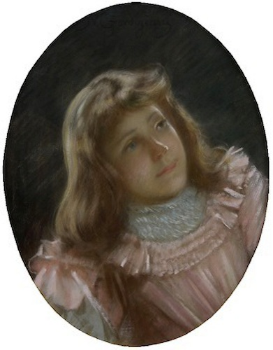 The Artist's Daughter (detail)