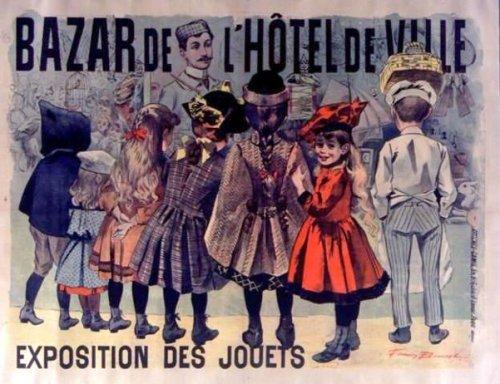 Bazar de l'Hotel de Ville - Exposition des jouets