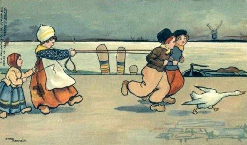 Dutch Children Playing