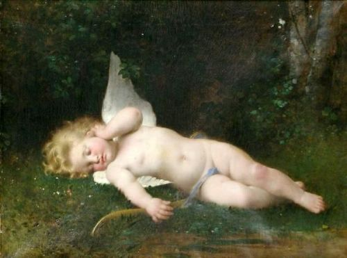 Cupid Sleeping