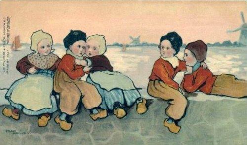 Dutch Children On The Wall