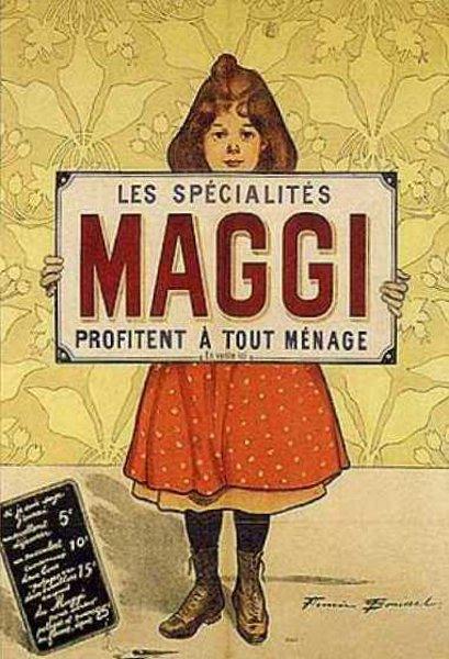 Les spécialités Maggi