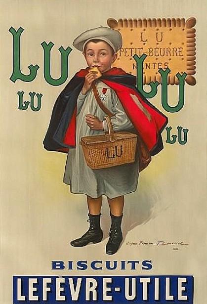 Lu Lu Biscuits Lefèvre-Utile