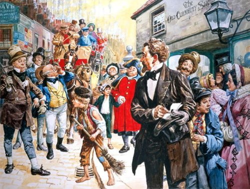 Old Curiosity Shop, by Charles Dickens