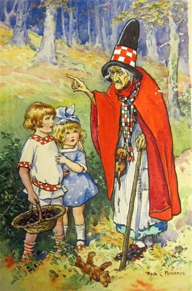 Peter And Betty Meet The Witch In The Wood