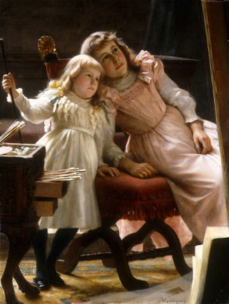 The Artist's Daughters