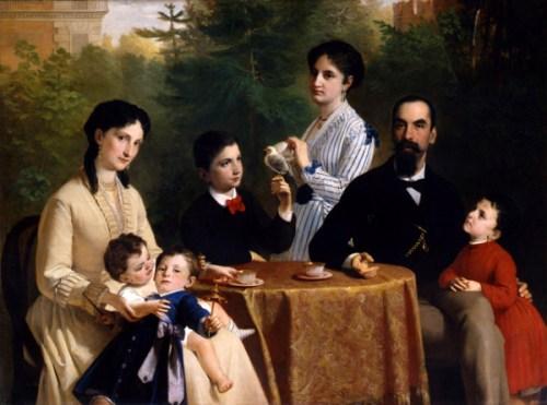 La famiglia Guastalla