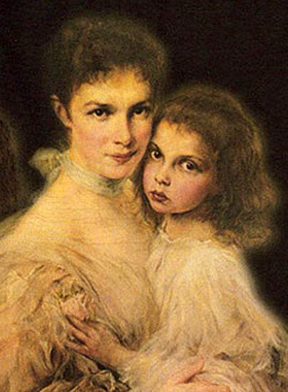 Marie Valerie of Austria And Her Daughter Elisabeth