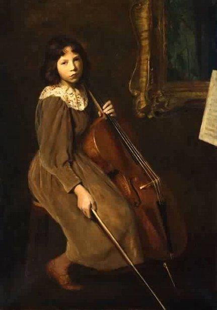A Young Violoncellist