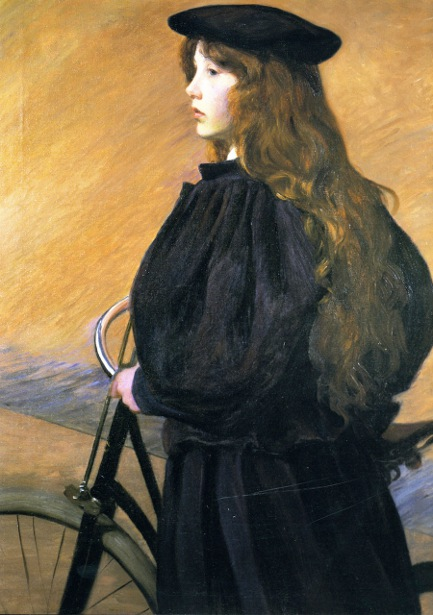 Young Bicyclist (Alice Perry)
