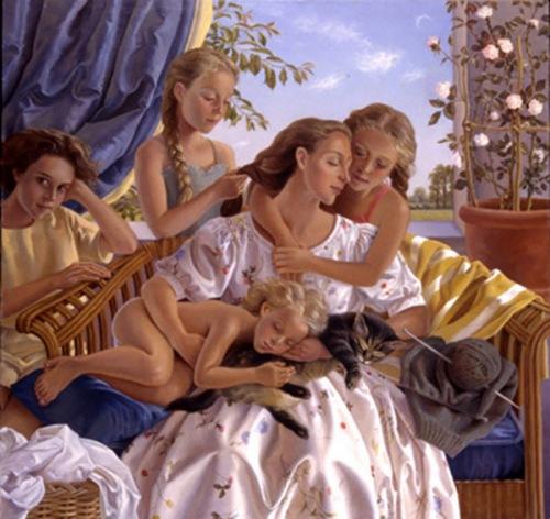 Andrée et ses filles