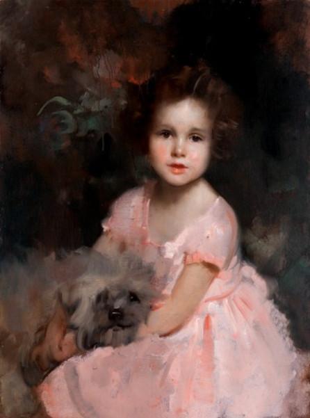 Giulia Maria Crespi a 3 anni