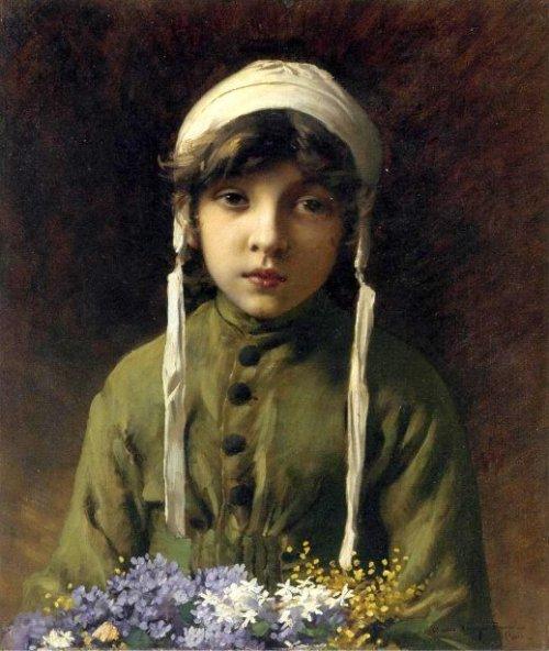 The Little Flower Girl