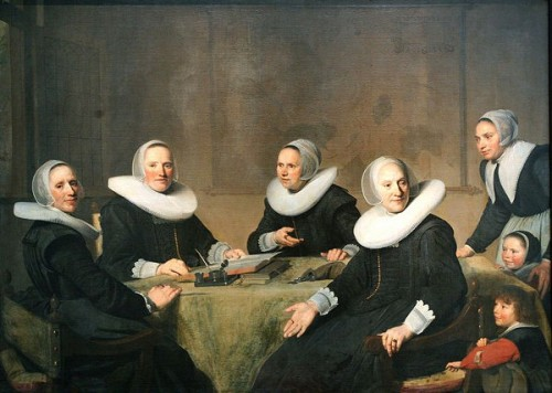 Lady-Governors Of The House Of The Holy Ghost At Haarlem