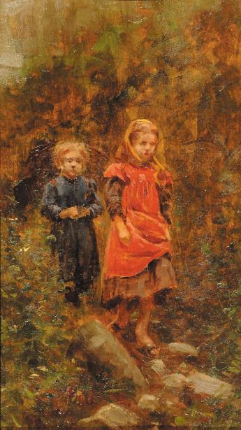 Luigi Napoleone Grady (1860 – 1949, Italian)