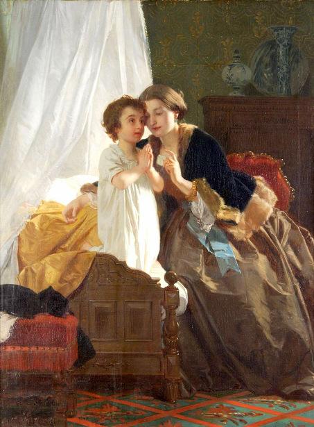Eugène Ernest Hillemacher (1818 – 1887, French)