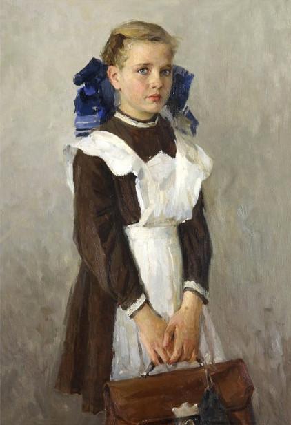 Lyudmila Ivanovna Lesnitskaya (1924, Russian)